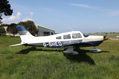 G-SHED Piper PA28-181 Archer II on 17 May 2013