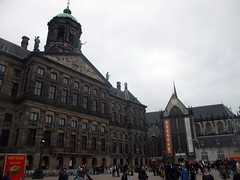 amsterdam_5_059 (OurTravelPics.com) Tags: church amsterdam square with dam royal palace kerk nieuwe the