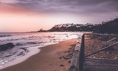 [ breath in peace ] Italy (chleggiero) Tags: sunset beach italy summer inspire breath sea