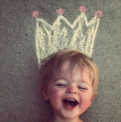 King ! (JamesGoblin) Tags: kid children child happy happines joyful joy smile laugh laughter king crown photo photograph young wonderful awesome childhood