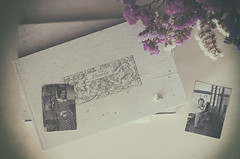 Fotos antiguas (Graella) Tags: photos fotos fotografias bn cenital flores flowers flors vintage antiguo antic recuerdos records imatges imgenes