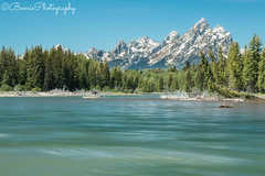 Grand Tetons (Beenie Photography) Tags: grand tetons national park landscape wide angle canon 1022mm tripod long exposure 70d lake glacial mountain view beautiful nature