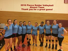 2016 Volleyball (pierceraiderathletics) Tags: alumni pierce raider nwac lakewood volleyball