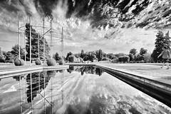 Developer B&W (UlyssesThirtyOne) Tags: samarascott battersea batterseapark art artexhibition water reflection