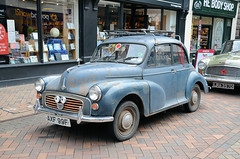Morris Minor TLC Required (davids pix) Tags: morris minor old car banger rusty gloucester retro 2016 27082016 axf99f