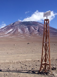 Excursion bolivienne, frontière Bolivie - Chili