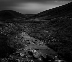Darkness Descends (Damon Finlay) Tags: nikon d750 nikond750 tamron 2470 f28 tamron2470f28 monochrome lee big stopper leebigstopper black white blackandwhite silver efex pro 2 silverefexpro2 nik collection nikcollection long exposure longexposure landscape scottish borders scottishborders talla water tallawater scotland