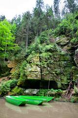 160524_153001_AB_4576 (aud.watson) Tags: europe czechrepublic bohemia decindistrict hrenska riverkamenice kamenicegorge edmundgorge gorge ravine river water rocks rockformation cliffs boat