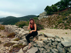 Ratsos 02.09.16 - 12 (angeloska) Tags: ikaria upperchalares ratsos waterfall wildswimming rivertrekking aegean greece september chalares opsikarias thetrailoftwocanyons      girls mountaingorge prettygirl telephone oliander