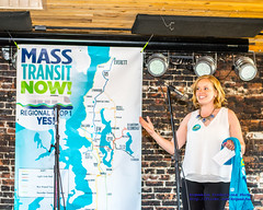 Mass Transit Now's Abigail Doerr Working the Crowd (AvgeekJoe) Tags: travellight anchorpub d5300 dslr everett importedkeywordtags masstransitnow nikon nikon50mmf18gafslens nikond5300 st3campaign snohomishcounty snohomishcountykickoffformasstransitnow transportationchoices transportationchoicescoalition campaignrally politicalcampaign politics