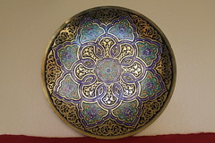 Bukhara Copperware, Uzbekistan (Boonlong1) Tags: ubekistan handicraft asian centralasia centralasian asianculture craft traditionalculture engravedmetal metalworking