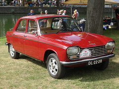 1969 Peugeot 204 (harry_nl) Tags: netherlands nederland 2016 nieuwegein vreeswijk authentiekedag peugeot 204 dl2228 sidecode1 import