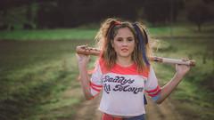 -=( Erin - Harley Quinn )=- (-=(Thejollygrimreaper)=-) Tags: girl teen portrait sony a6000 helios vintagelens swirl bokeh preset lightroom art mood daylight naturallight portraitphotogrpahy beauty eyes