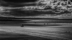 Mini Staycation (MarkWaidson) Tags: porthcawl beach silhouttes wales clouds sky