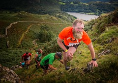 Fell Runners (Chris Willis 10) Tags: grasser fell running runner hill lake district cumbria