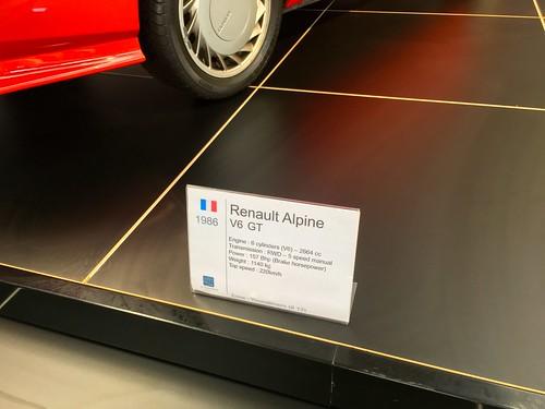 1986 Renault Alpine V6 GT 2.7Litre