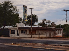 No more Diner (Nicolas) Tags: america grants newmexico nicolasthomas usa abandoned batiment building decay history holidays house route66 ruins trip vacances