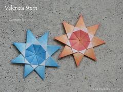 A new Star by Carmen Sprung (esli24) Tags: origamistar carmensprung ilsez juliaschönhuber modularorigami origamistern weihnachten papierstern
