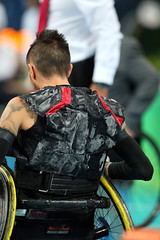 Matthew Murnaghan:Canadian Paralympic Committee-sept201691850 (Wilson School of Design at KPU) Tags: wheelchair rugby men paralympic games riodejanerio brazil