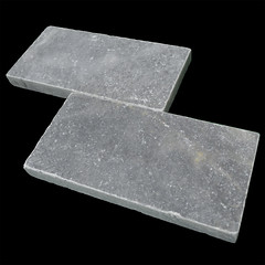 sky blue marble paver 6x12 tumbled  (10)