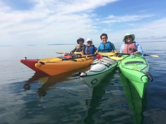 Kayaking and Hiking the Les Cheneaux Islands, September 2016