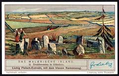 Liebig Tradecard S1318 - Drombeg Stone Circle (cigcardpix) Tags: tradecards advertising ephemera vintage liebig ireland