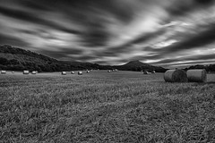 Roseberry Topping (Mike Fellows) Tags: pentax k3 sigma 1020 middlesbrough mono silver efex pro 2 roseberry topping countryside long exposure haystack