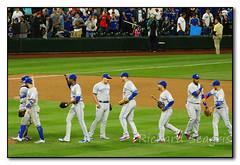 Celebrating the Win (seagr112) Tags: seattle seattlemariners torontobluejays washington baseball baseballgame mlb team sport safecofield
