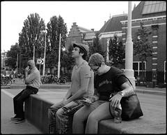 Tattooed n. 2 (Franco & Lia) Tags: street fotografiadistrada photographiederue amsterdam nederland holland tattoo biancoenero noiretblanc blackandwhite 2485f284