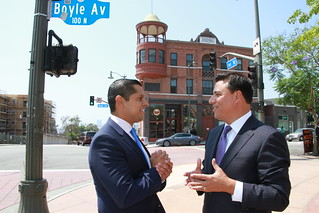 Miguel Santiago is Endorsed by Councilmember Jose Huizar