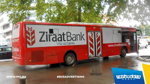 Info Media Group - Ziraat Bank, BUS Outdoor Advertising, Banja Luka 08-2016 (2)
