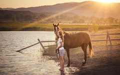 Marianne and Starbuck (andy_8357) Tags: horse woman marianne starbuck lake water backlight backlit sun sunset beautiful serene friendship companion companionship sony a6000 6000 ilcenex ilce6000 sel1650 e pz 1650mm mirrorless mountains colorado frontrange front range trees sky sweet moment sunray ray ridge ridgeline boulder countryside rural blonde hills lovely special fence shadows friend friends companions closeness close green grass fall alpha golden gold hue portrait selp1650 retratos emount valley wide angle equine