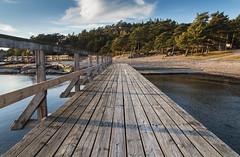 Going ashore (Per-Karlsson) Tags: pier jetty swedishwestcoast bohusln bohuslan vstkusten wooden beach sea outdoor waterfront sweden scandinavia