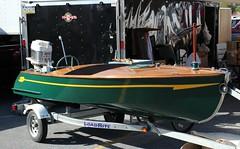 Wood boat (carphoto) Tags: woodboat 2016hersheyoldcarfleamarket ©richardspiegelmancarphoto