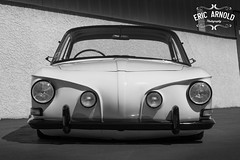 Black and White Monday #42 (Eric Arnold Photography) Tags: blackandwhitemonday blackandwhite monday bw monochrome vw volkswagen type34 karmann ghia karmannghia righthanddrive rotary volksamerica shoot feature low lowered vegas lasvegas nv nevada