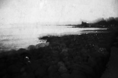 queen and her cook (Lamson Noswen) Tags: bigisland history queen captaincook lamson bw blackandwhite abstract texture landscape hawaii rockandwater