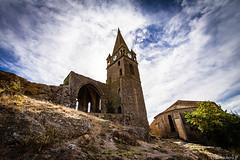 Le chteau de Capendu (bonacherajf) Tags: aude capendu chateau ruine clocher