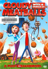 Cloudy with a Chance of Meatballs (Vernon Barford School Library) Tags: inventors inventions televisionweathercasters bullying bulling bullies police food meatballs weather judibarrett ronbarrett billhader annafaris jamescaan benjaminbratt neilpatrickharris robertfisher justinkthompson michaelkurinsky careyyost comedy comedies childrensfilms animated animation vernon barford library libraries new recent video videos film films junior high middle school covers cover videocase videocases dvd dvds dvdcase dvdcases fiction fictional movie movies fantasyfilms fantasy motionpicture motionpictures