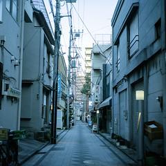 2015-02-14_16:58 (h-pom) Tags: 2015 feb yokohama japan film color portra400 squareformat mediumformat slr 90mm 6x6