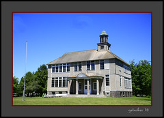 School 1927 Gay MI (the Gallopping Geezer 3.8 million + views....) Tags: building structure historic old antique gay mi michigan upperpeninsula smalltown backroads rural canon 5d3 tamron 28300 geezer 2016 school education saved restored preserved notinuse historical
