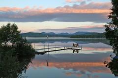 20160901_002_saint_aime_des_lacs_vue_de_notre_chambre (lindy_scuba) Tags: canada lakes quebec saintaimedeslacs sunrise