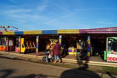 DSC02209 (A Parton Photography) Tags: fairground rides spinning longexposure miltonkeynes fireworks bonfire november cold