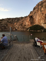 IMG_7420 (by_Stella) Tags: athens greece travel travelling traveling keeptravelling enjoy world europe athena lake hobby love vouliagmeni swim swimming cat ninelives kitty streetcat cats food foodie greekfood greek summer summernight