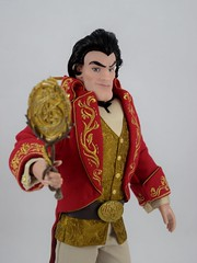 Gaston Limited Edition Doll - Beauty and the Beast - 18'' - US Disney Store Purchase - Deboxed - Free Standing - Midrange Left Front View (drj1828) Tags: us disneystore beautyandthebeast limitededition 17inch doll collectible animated 2016 gaston villain purchase deboxed freestanding