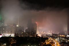 Smoke moving toward CWB (Alan Yeh Photography) Tags: october12016 hongkong hongkongnationalday nationalday hknationalday fireworks 1012016 causewaybay victoriaharbour victoriaharbor hkvictoriabarbour victoriaharbourhk 852 kowloon icc