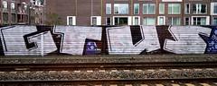 graffiti amsterdam (wojofoto) Tags: trackside railway spoorweg gtus amsterdam graffiti nederland netherland wojofoto wolfgangjosten