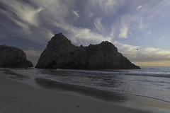 Big Sur, Ca (tysonjohnston) Tags: big sur california pch nikon d810 dusk beach ocean forest shore pfeiffer mcway falls