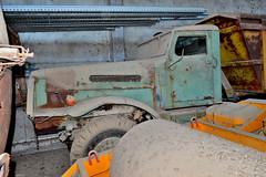 brockway 666 (riccardo nassisi) Tags: auto camion truck abbandonata abandoned abbandonato rust rusty relitto rottame ruggine ruins scrap scrapyard epave urbex decay piacenza cava san nicol