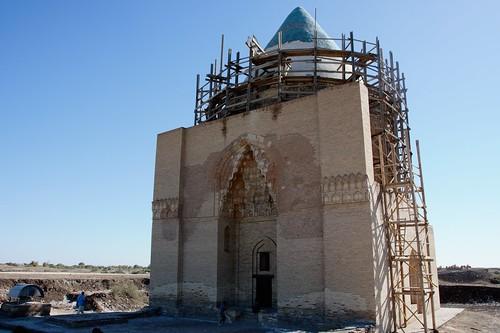 Turkmenistan 533 - Konye (o Kunya)-Urgench - mausoleo di Sultan Tekesh
