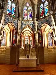 Astorga Gaudi Masterpiece (mmcclana24) Tags: backpacking pilgrimage artwork artphotos caminodesantiago church churches astorga europe spain photoblog blog travelblog beautiful architecture traveling travelphotos travel gaudi art